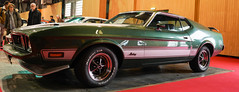 Ford Mustang Mach 1 1973 (monsieur Burns) Tags: sonyphotographing rétromobile ford mustang mach1