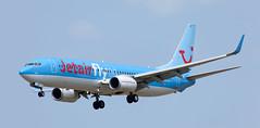 B737 | OO-JAF | BRU | 20100710 (Wally.H) Tags: boeing 737 boeing737 b737 oojaf jetairfly bru ebbr brussels zaventem airport