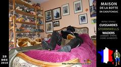 Sur le lit avec les chiens (pascalenbottes1) Tags: chiens peluches lapinet lapinets maison maisonbottescaoutchouc muséebottescaoutchouc lit pascal pascallebotteux chambre cuissardes cuissardesstormwells stormwells leméesurseine boot boots botas botasdehule bottédecaoutchouc botte bottescaoutchouc bottesencaoutchouc bottescaoutchoucfreefr botteux rubberboots waders stivalidigomma gummistiefel wellies gumboots bottes ciszme laarzen caoutchouc stivali stövler stiefel rubber wellingtonboots cap casquette rainboots galochas ambc httpbottescaoutchoucfreefr cizme cižmy gomma gummistövlar gumicsizma gumicizme gummicizme gloves gants hule httpbottescaoutchoucfreefrgalpascaljourjourpb002013html kumisaappaat rubberen rubberlaarzen stövlar stovlar