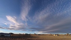 Cloudscape:  Sunset_TL (northern_nights) Tags: timelapse sunset cloudscape skyscape cheyenne wyoming widefield yi4kactioncam lenticular altocumulus clouds redsky goldenhour