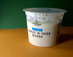Quark (Tony Worrall) Tags: add tag ©2019tonyworrall images photos photograff things uk england food foodie grub eat eaten taste tasty cook cooked iatethis foodporn foodpictures picturesoffood dish dishes menu plate plated made ingrediants nice flavour foodophile x yummy make tasted meal nutritional freshtaste foodstuff cuisine nourishment nutriments provisions ration refreshment store sustenance fare foodstuffs meals snacks bites chow cookery diet eatable fodder ilobsterit instagram forsale sell buy cost stock pot quark garlic sauce morrisions vegan veggie