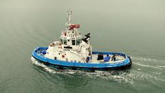 18 09 08 Tug Gerry O'Sullivan (pghcork) Tags: tug tugboat corkharbour portofcork cork ireland cobh ringaskiddy gerryosullivan boat ships shipping ship