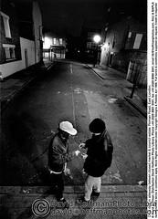 Drug Deal 1 (hoffman) Tags: alley crime criminal dealer dealing drug illegal night outdoors street vertical young youth 181112patchingsetforimagerights london uk