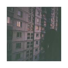 R1-09939-0031-01 (dulldrew) Tags: 35mm russia moscow kodak person cigarette smoking sunset