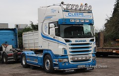 Cleere Autos Scania R500 (05DL8849). (Fred Dean Jnr) Tags: cleereautos scania r500 topline 05dl8849 carrigtwohill cork january2019 truck ddennehy
