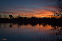 Pintado con tempera...19/365 (cienfuegos84) Tags: cienfuegos84 sol sun amanecer sunrise nd polvoranca