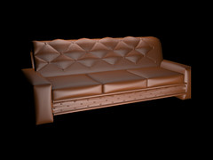 Sofa 3 seater Free 3D Model (Free 3D Models) Tags: 3d models stock 3dexport cg textures download free freebies hdri marketplace