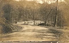 Boulder Bridge (1912) (StreetsofWashington) Tags: boulderbridge rockcreekpark washington washingtondc bridges postcards