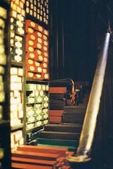 Wands (goodfella2459) Tags: nikonf4 afnikkor50mmf14dlens kodakportra400 35mm c41 film analog colour harrypotter harrypotterstudiotour warnerbros cinema jkrowling