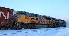 UP 8436, CSX 780, Chapman, Neenah, 26 Jan 19 (kkaf) Tags: neenah a447 chapman csx up sd70ace es44ah