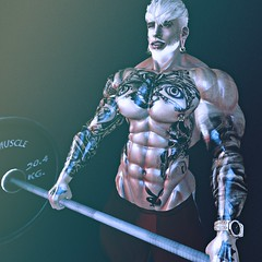 lift (SecondlifeInkBoy) Tags: secondlife second life muscle male macho sl