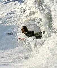 fullsizeoutput_522a (supercrans100) Tags: seal beach big waves back wash calif beaches surfing body bodyboarding skim boarding drop knee photography