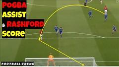 Paul Pogba's Beautiful Assist to Marcus Rashford Goal vs Leicester City (triettan.tran) Tags: paul pogbas beautiful assist marcus rashford goal vs leicester city