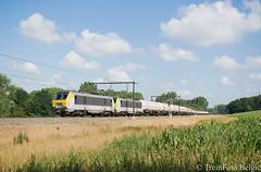 LINΞΛS 1307 Pécrot (TreinFoto België) Tags: 47902 agt oiltanking basel visp hle 13 alstom lineas nmbs 1307 1345 lijn 139 ottignies leuven belgië belgium belgien belgique antwerpen waaslandhaven train trein
