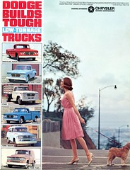 1964 Dodge Truck Range (coconv) Tags: car cars vintage auto automobile vehicles vehicle autos photo photos photograph photographs automobiles antique picture pictures image images collectible old collectors classic ads ad advertisement postcard post card postcards advertising cards magazine flyer prestige brochure dealer 1964 dodge truck range 64 mopar pickup sweptline utiline town wagon stake tradesman panel pick up
