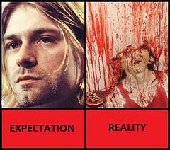 Rockstars (h7854774) Tags: funny kirt kurt cobain dead suicide shotgun violence meme artist singer guitar rock heroin drugs rockstar