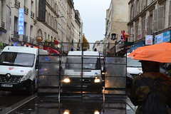 Trump not welcome in France (Jeanne Menjoulet) Tags: crs police placedelarépublique paris manifestation manif trump donaldtrump demonstration 11novembre2018 demo antitrump car