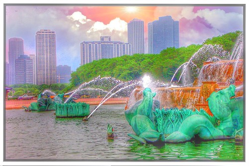 Chicago Illinois ~ Buckingham Fountain ~ Grant Park