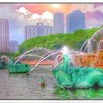 Chicago Illinois ~ Buckingham Fountain ~ Grant Park thumbnail