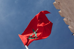 Moroccan Flag (Geraint Rowland Photography) Tags: flag flags identity nationalism africa africanflags maroc morocco travelinmorocco moroccanroyalty themoroccanflagflyinginmeznes wwwgeraintrowlandcouk gomorocco visitmorocco mezzos wall