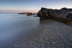 Playa El Faro de Calaburra (Fran Santiago) Tags: malaga andalucia spain photography photo night longexposure landscape travel city art nature flower cool love monument vacation holiday mar flickr colour contrast sony carlzeiss beach playa sea