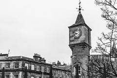 Clocktower (separatesunsets) Tags: architecture deanvillage edinburgh old scotland stockbrigde waterofleith