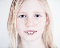 Meike, Saturday afternoon (PascallacsaP) Tags: portrait portraiture frontal overexposure freckles teeth availablelight naturallight indoor windowlight mitakon 35mm f095 zhongyimitakonspeedmaster35mmf095markii