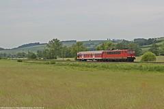DB 155 261 am 23.05.2018 mit einem N-Wagen in Haunetal-Neukirchen (Eisenbahner101) Tags:
