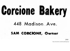 1966  corcione bakery  448 madison (albany group archive) Tags: 1960s old albany ny vintage photos picture photo photograph history historic historical