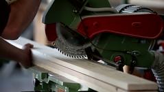 Circular saw cutting wood in carpenter workshop (SawAdvisor) Tags: circular saw woodworking carpenter cutting circularsaw