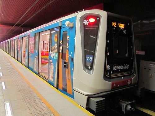 Siemens Inspiro, #75, Metro Warszawskie