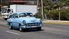 Varadero Taxi (Loops666) Tags: taxi chevrolet cuba varadero car blue 1950s classic hino truck belair chevy
