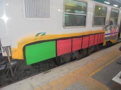 10% (en-ri) Tags: odio giallo nero rosso train torino graffiti writing