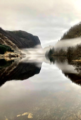 Mystisk vann -|- Mystical lake (erlingsi) Tags: vann water lake dregebøvatn gaular sunnfjord mist dis tåke reflection spegling