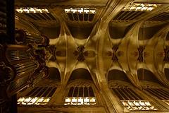 Eglise de Sablon Bruxelles (mifranc91) Tags: 1820 arches architecture bruxelles d700 doré église lumières nikon ombres orgue