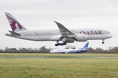 A7-BCV   Qatar Airways   Boeing B787-8 Dreamliner   CN 38340   Built 2015   DUB/EIDW 17/12/2018 (Mick Planespotter) Tags: aircraft airport 2018 dublinairport flight collinstown nik sharpenerpro3 a7bcv qatar airways boeing b7878 dreamliner 38340 2015 dub eidw 17122018 b787 b788