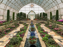 Sunken Garden - Explore #215 - Thanks for the Explore! (Walt Polley) Tags: comoparkconservatory minnesota copyright©2019waltpolley iphone7s ©walterpolley