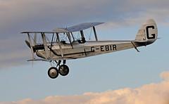 """de Havilland DH51 """"Miss Kenya"""" (rac819) Tags: shuttleworthcollection oldwarden shuttleworthtrust sunsetdisplay ukairdisplays dehavilland dh51 misskenya biplane aviation aircraft"""