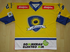 EHC Arosa 2014 - 2015 road Game Worn Jersey (kirusgamewornjerseys) Tags: ehc arosa game worn jersey ice hockey switzerland andrej maraffio