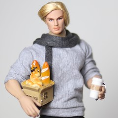 @sonzucci (halscary) Tags: integrity toys fashion royalty sonzucci doll ken barbie midge ace mcfly muscle boy man french color infusion