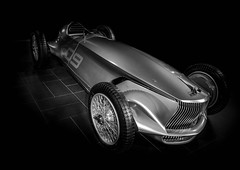 Prototype 9 (Dave GRR) Tags: infiniti prototype9 toronto auto show 2018 retrocar classic retrro monochrome mono chrome olympus