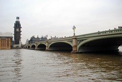 Westminster Bridge and Big Ben (zawtowers) Tags: jubilee greenway section 9 westminsterbridgetobuckinghampalace westminster central london saturday 19th january cloudy dry cold amble walk stroll exploring bridge big ben iconic clock face tower repair river thames