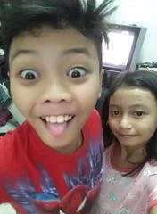 funny photo of Jam :) (ghostgirl_Annver) Tags: asia asian boy jam brother family sister funny happy