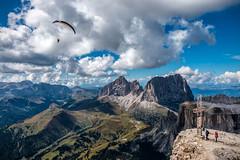 Sellaronda Dolomiti (BZ) (Ondablv) Tags: alpino nuvole bolzano alto adige bosco abeti massiccio ondablv alberi trentino dolomiti