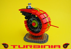 Turbinia Speeder Bike (David Roberts 01341) Tags: lego speederbike beic minifigure space scifi red toy futuristic