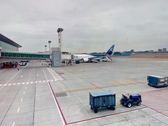 Aeropuerto (Gabriela Andrea Silva Hormazabal) Tags: guayaquil ecuador sudamerica viajes turismo latam aerolinea vuelo flight scl santiago guy aeropuerto airport cordillera nubes clouds cielo sky avión nieve lan