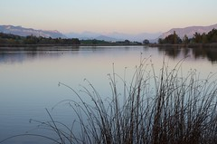 Lac de Mison (RarOiseau) Tags: lac automne couchant lacdemison alpesdehauteprovence lake autumn landscape paysage v2000
