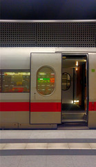 All aboard (Light Orchard) Tags: berlin germany deutschland efficiency design ©2018lightorchard bruceschneider train transportation station