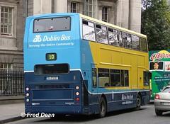 Dublin Bus AV367 (04D20367). (Fred Dean Jnr) Tags: april2005 dublin dublinbus busathacliath dublinbusyellowbluelivery volvo b7tl alexander alx400 collegegreendublin pboro dublinbusroute10 av367 04d20367