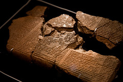 Assyrian art at the British Museum (archidave) Tags: ashurbanipal britishmuseum assyria assyrian art relief sculpture clay tablet library cuneiform gilgamesh epic
